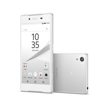 """SONY Xperia Z5 (E6653), 1298-0711, bílá (white), mobilní telefon, Octa-Core, 2,0 GHz, 3 GB RAM, interní paměť 32GB, 5,2"""", 1920x1080, microSD, GPS, 3G, LTE, Foto 23Mpx, BT, Wi-Fi, Android 5.1 Lollipop"""