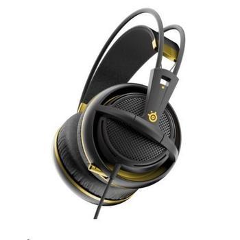 STEEL SERIES Siberia 200, 51134, Alchemy Gold, herní sluchátka, ovládání hlasitosti, jack 3,5mm, s mikrofonem, 32 Ohm