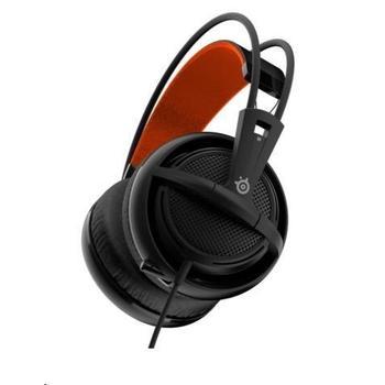 STEEL SERIES Siberia 200, 51133, černé (Black), herní sluchátka, ovládání hlasitosti, jack 3,5mm, s mikrofonem, 32 Ohm