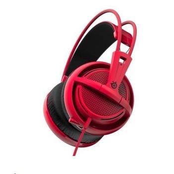 STEEL SERIES Siberia 200, 51135, Forged Red, herní sluchátka, ovládání hlasitosti, jack 3,5mm, s mikrofonem, 32 Ohm