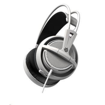 STEEL SERIES Siberia 200, 51132, bílý (white), herní sluchátka, ovládání hlasitosti, jack 3,5mm, s mikrofonem, 32 Ohm