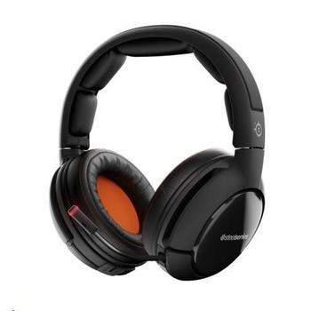STEEL SERIES Siberia 800 Headset, 61302, bezdrátová sluchátka, ovládání hlasitosti, jack 3,5mm, s mikrofonem