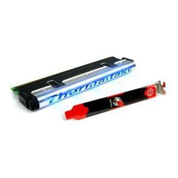THERMALTAKE TrueLight Heat Spreader, CL-C0001, chladič, pasivní, hliníkový, modré podsvícení