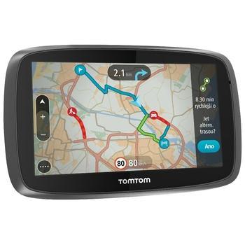 "TOMTOM GO 510 World LIFETIME, 1FA5.002.55, GPS navigace do auta, 8GB, micro SD, 5"" displej, RDS/TMC, 45 zemí Evropy"