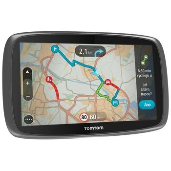 "TOMTOM GO 610 World LIFETIME, 1FA6.002.55, GPS navigace do auta, 8GB, micro SD, 6"" displej, RDS/TMC, 45 zemí Evropy"