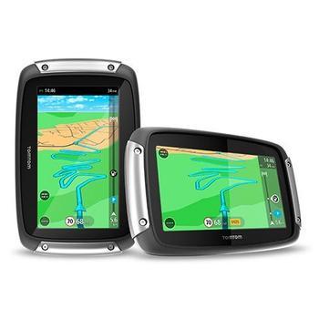 """TOMTOM Rider 40 CE LIFETIME, 1GE0.029.00, GPS navigace, micro SD, handsfree, BT, 4,3"""" displej, 19 zemí střední Evropy"""