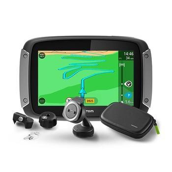"TOMTOM Rider 400 EU Premium Pack LIFETIME, 1GE0.002.01, GPS navigace, micro SD, handsfree, BT, 4,3"" displej, 45 zemí Evropy"