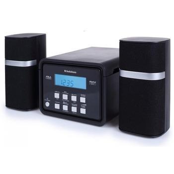 TOPCOM AudioSonic HF - 1251, HF-1251, černo-stříbrný (black/silver), mikrosystém, CD, FM rádio