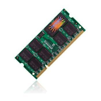 TRANSCEND SODIMM 512MB 333MHz DDR, TS64MSD64V3J, paměť do notebooku, CL2,5