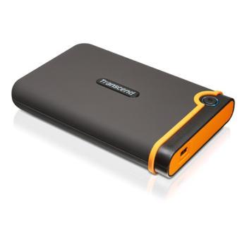 """TRANSCEND StoreJet 25M2 500GB , TS500GSJ25M2, černý (black), přenosný pevný disk, 8MB, 5400ot./min., 2,5"""", USB 2.0"""
