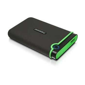 """TRANSCEND StoreJet 25M3 2TB, TS2TSJ25M3, černý (black), přenosný pevný disk, 5400ot./min., 2,5"""", USB 3.0"""