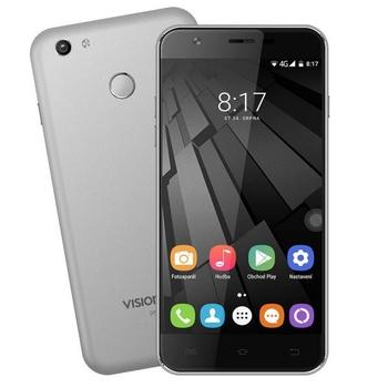 "UMAX VisionBook P55 LTE, UMM200P55, šedý (grey), mobilní telefon, Quad-Core, 1,3 GHz, 2 GB RAM, interní paměť 16GB, 5,5"", 720x1280, microSD, GPS, GPRS, 3G, LTE, Micro SIM, Foto 8Mpx, BT, Wi-Fi, Dual SIM,"