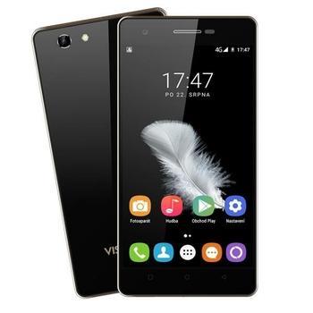 "UMAX VisionBook P50 LTE, UMM200P5C, černý (black), mobilní telefon, Quad-Core, 1,3 GHz, 1 GB RAM, interní paměť 8GB, 5"", 720x1280, microSD, GPS, GPRS, 3G, LTE, Micro SIM, Foto 5Mpx, BT, Wi-Fi, Dual SIM, And"