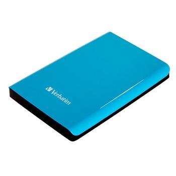 "VERBATIM Store ""n"" Go 1TB, 53175, modrý (blue), přenosný pevný disk, 5400ot./min., 2,5"", USB 3.0"