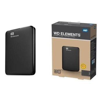 "WESTERN DIGITAL Elements Portable 750GB, WDBUZG7500ABK-EESN, černý (black), přenosný pevný disk, 2,5"", USB 3.0"