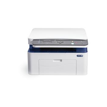 XEROX WorkCentre 3025V_BI, 3025V_BI, bílo-modrý, multifunkce, laserová, tiskárna/ skener/ kopírka, 128MB, A4, ADF, 20 str./min.ČB, 1200x1200dpi, USB 2.0, LAN, Wi-Fi