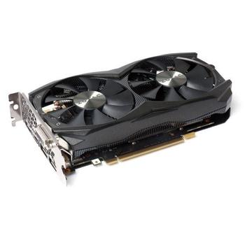 ZOTAC GeForce GTX 960 AMP, ZT-90303-10M, grafická karta, GeForce GTX 960, 2GB, DDR5, PCIe 3.0, 2-way SLI, DVI, HDMI, 3x DisplayPort, NVIDIA CUDA